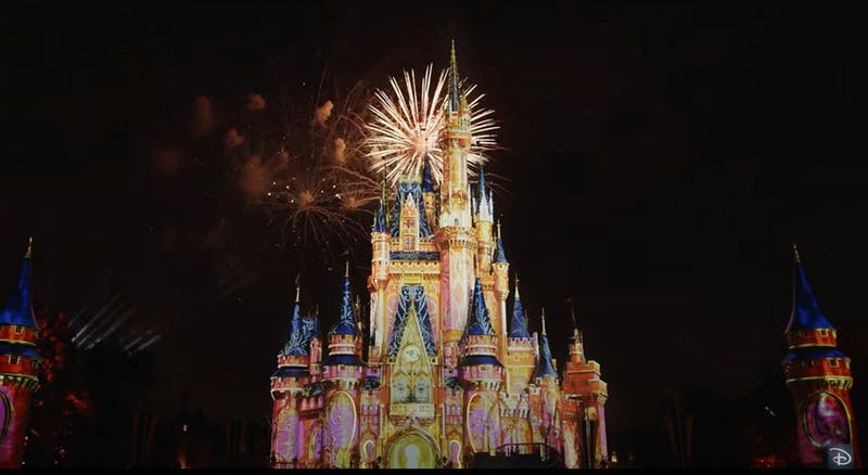 Disney's fireworks show is just one of the many virtual experiences the company is offering during the COVID-19 coronavirus pandemic.