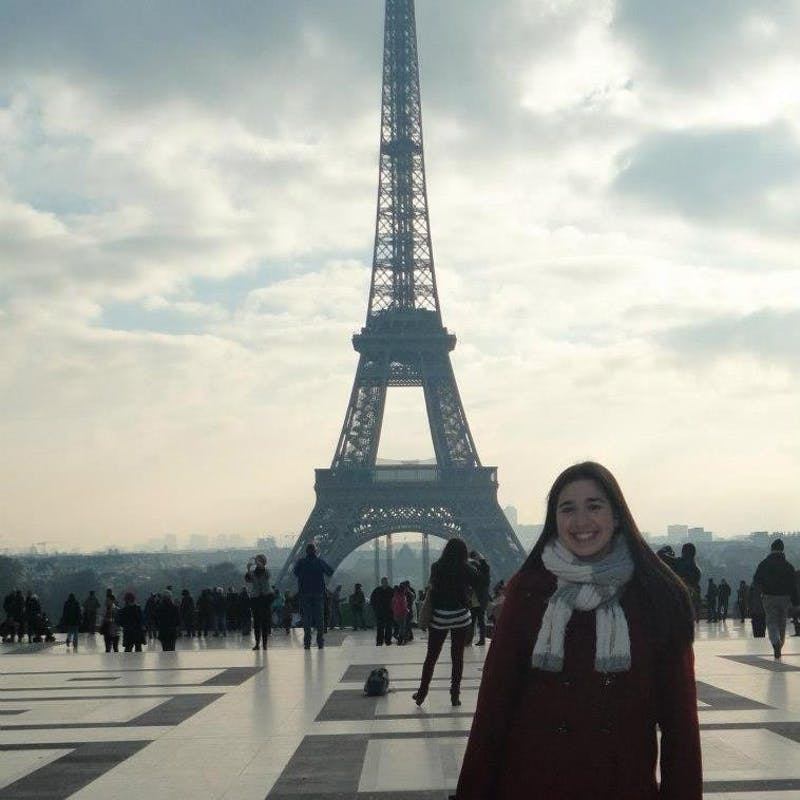 Rachel Flicker studied abroad in the Netherlands and had the opportunity to travel to Germany, Belgium, England and France. She is now SU's study abroad ambassador.