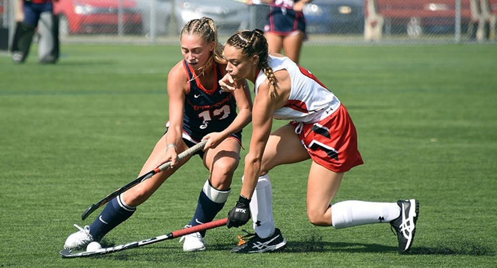 Field hockey splits conference games against West Chester, Mercyhurst
