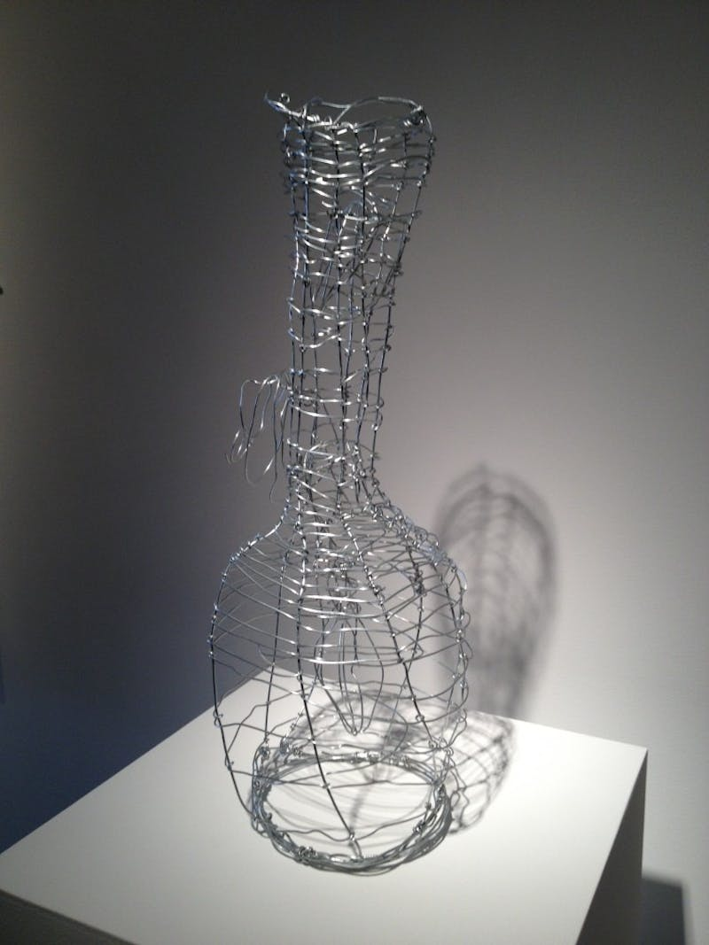An example of artwork from the exhibition.