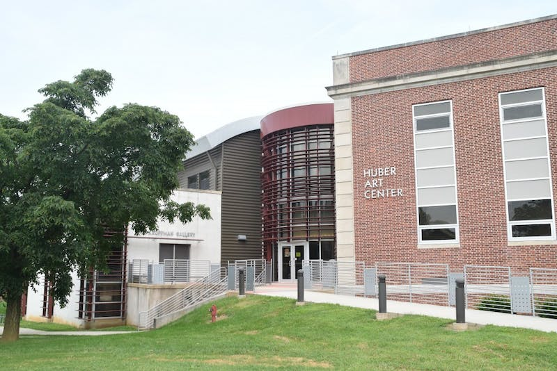 Huber Art Center is the central hub for the Shippensburg Art and Design Department, and boasts several galleries where student exhibits are shown.