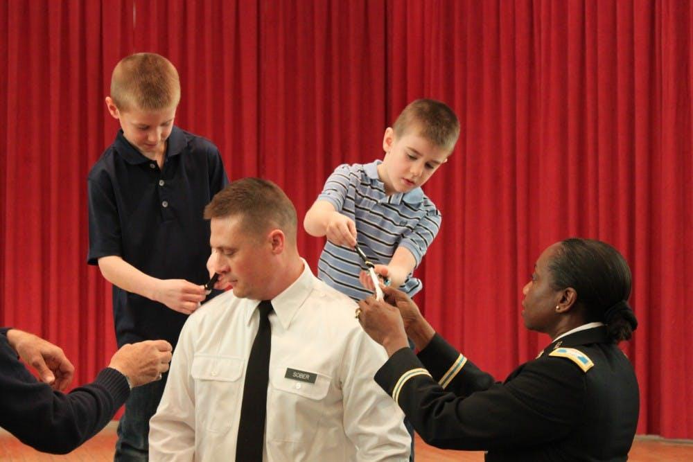 SU alumnus promoted to Lieutenant Colonel