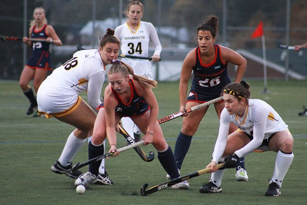 Field hockey falls 2-1 to Millersville in double overtime in the quarterfinals of the PSAC tournament