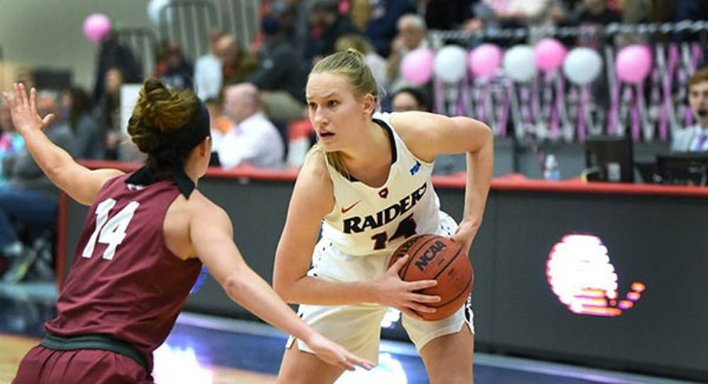 Women's basketball gets win on the road