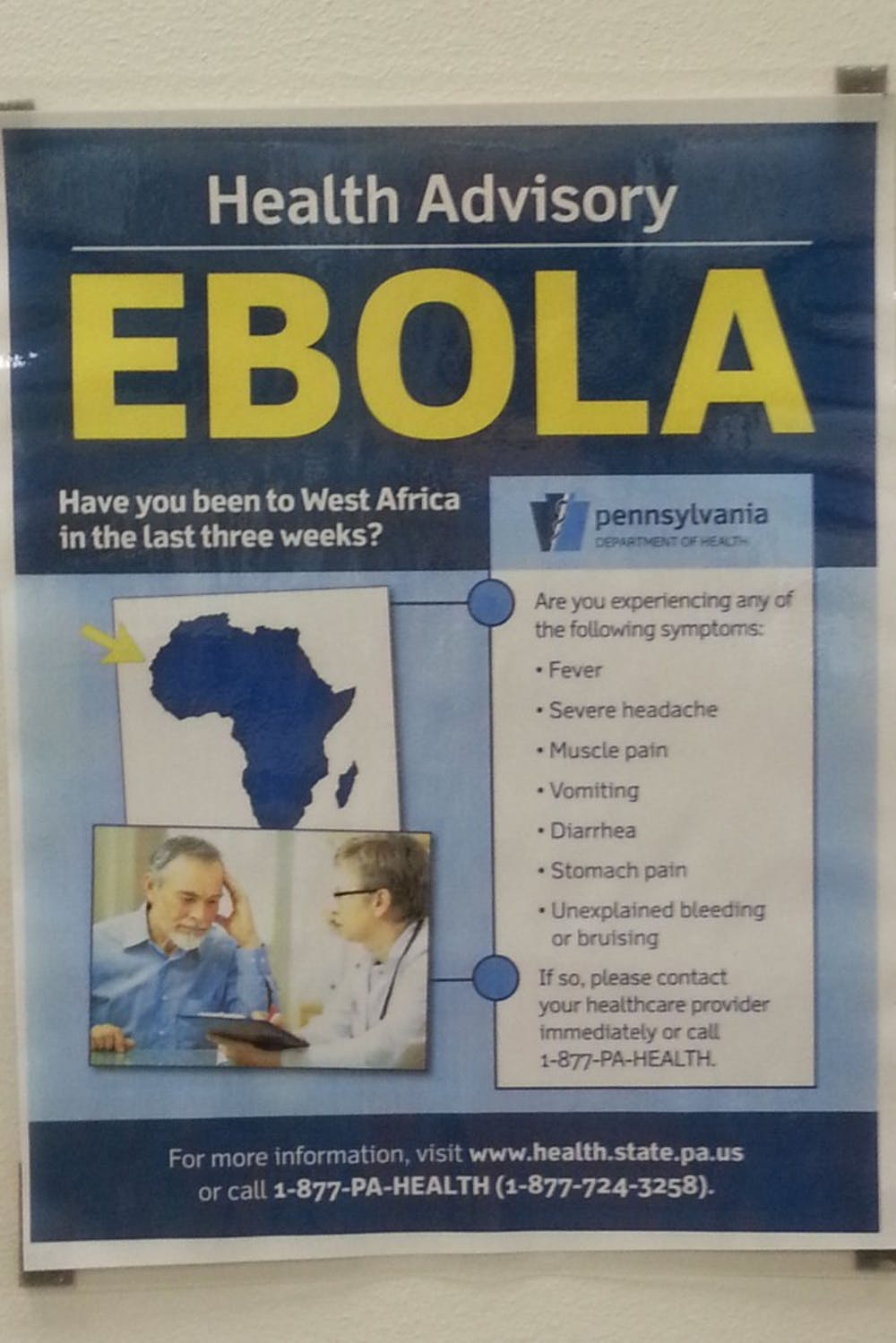 Students express slight concern over Ebola