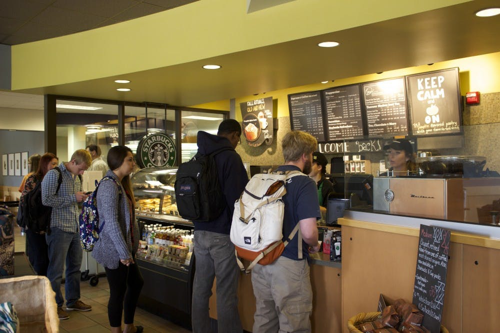 The Dunkin' effect on campus dining