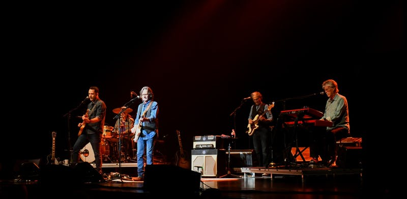 The Nitty Gritty Dirt Band played to a full audience at the Luhrs Center on Saturday, Oct. 9th.