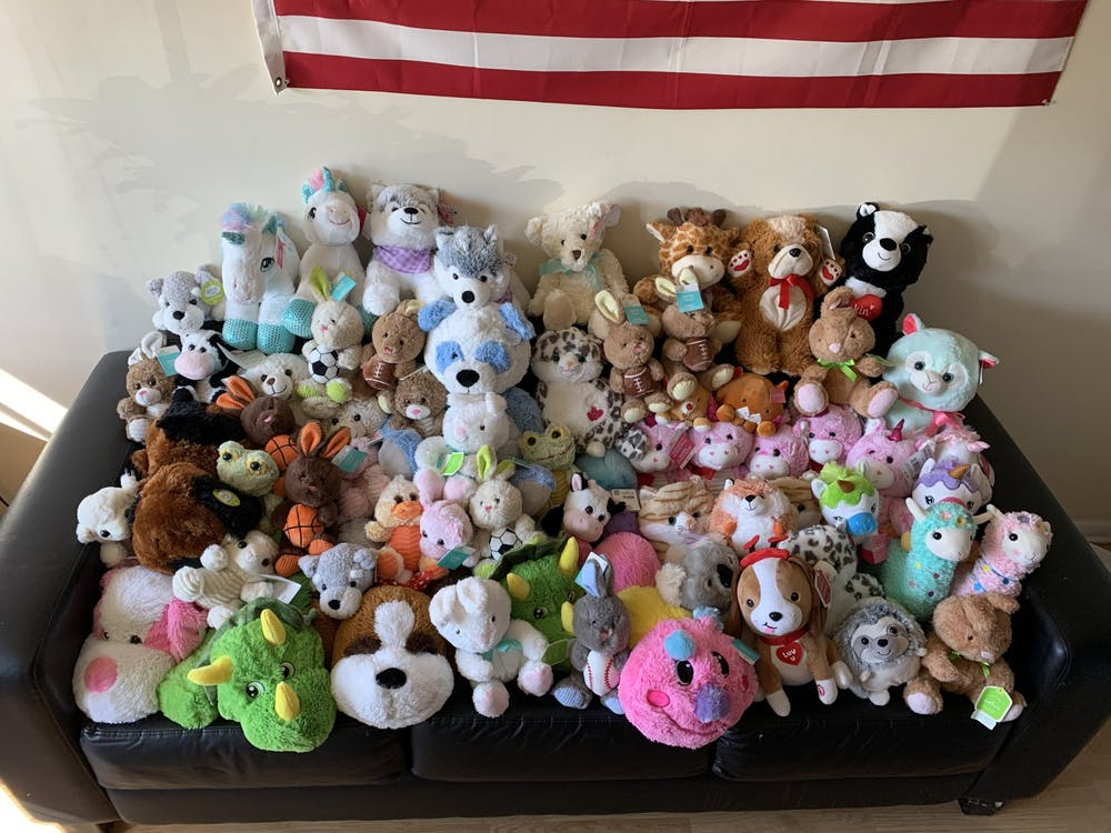 Sorority fundraises for children's hospital through stuffed animals