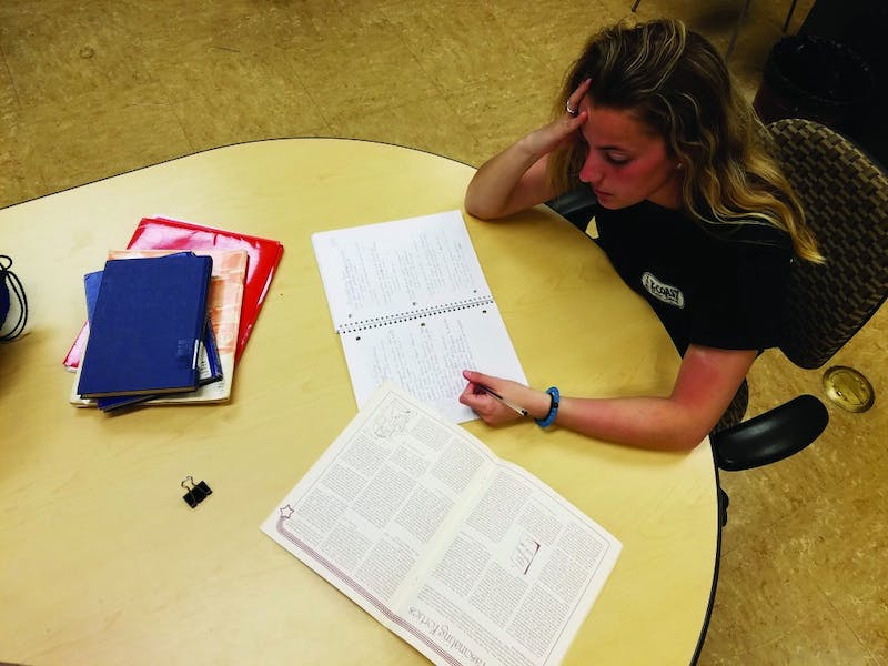 We all deal with the stress differently, which is why there are many resources for students on campus.