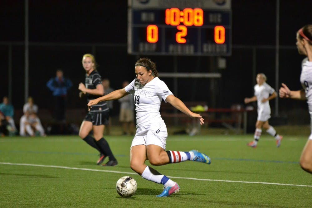 Women's soccer: Raiders keep perfect home record alive