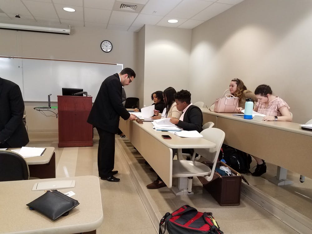 Mock trial team shows spirit through real-life experience