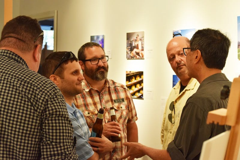 Digital photography students display their work at SHAPE gallery. Well known photojournalist Stan Honda instructed the class with his wide array of knowledge and experience.