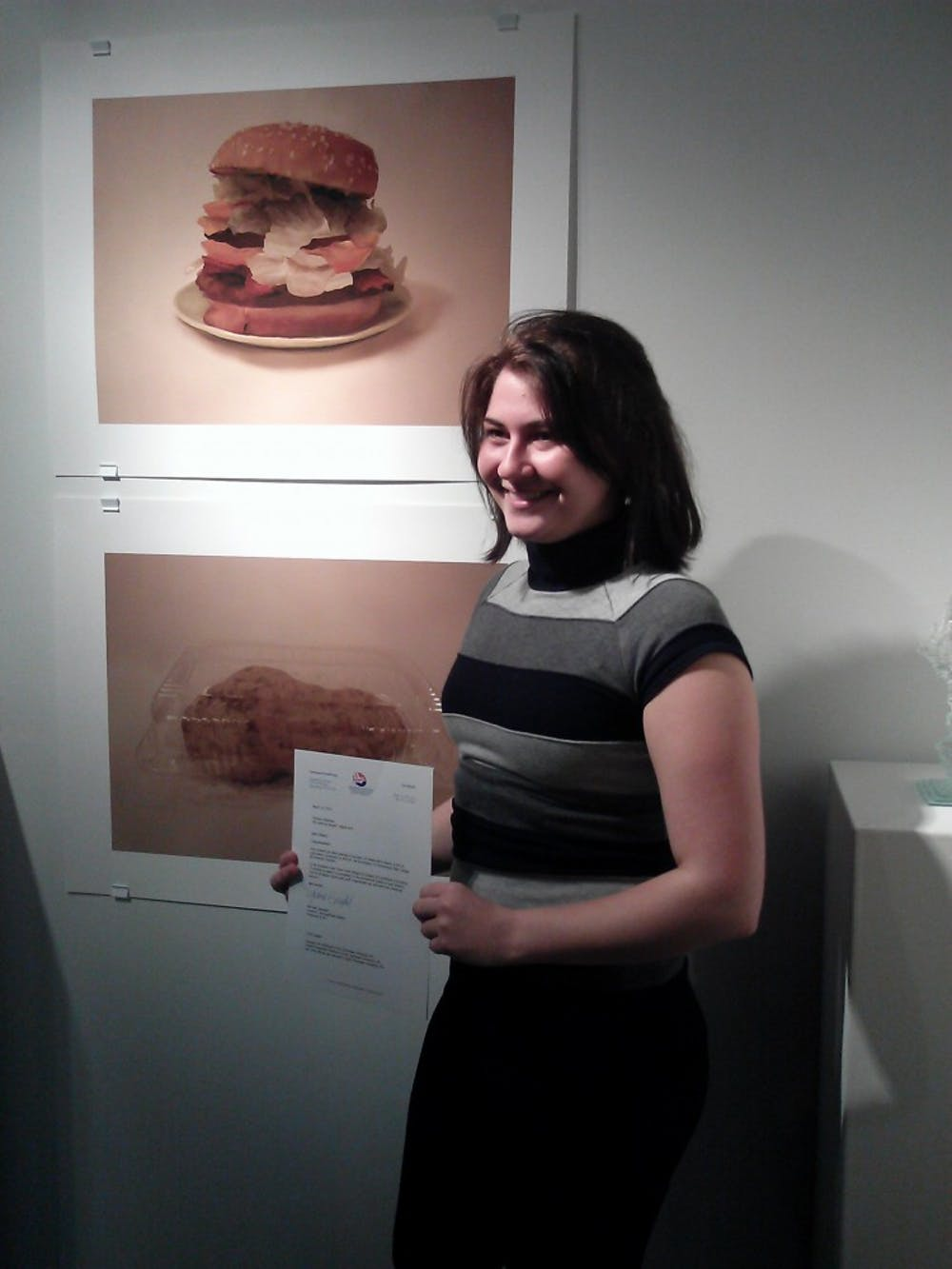 Student art so good you'll want to eat it