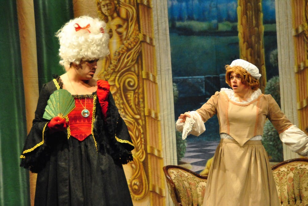 SU theater students present 'Act A Lady'