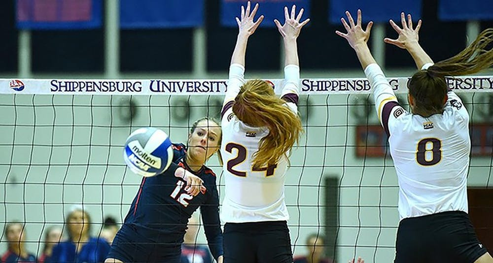 Volleyball earns playoff spot with win against Bloomsburg