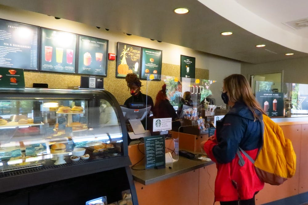 A day in the life of a student Starbucks barista