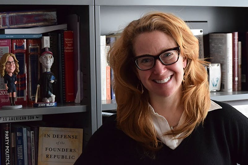 Alison Dagnes -SU political science professor