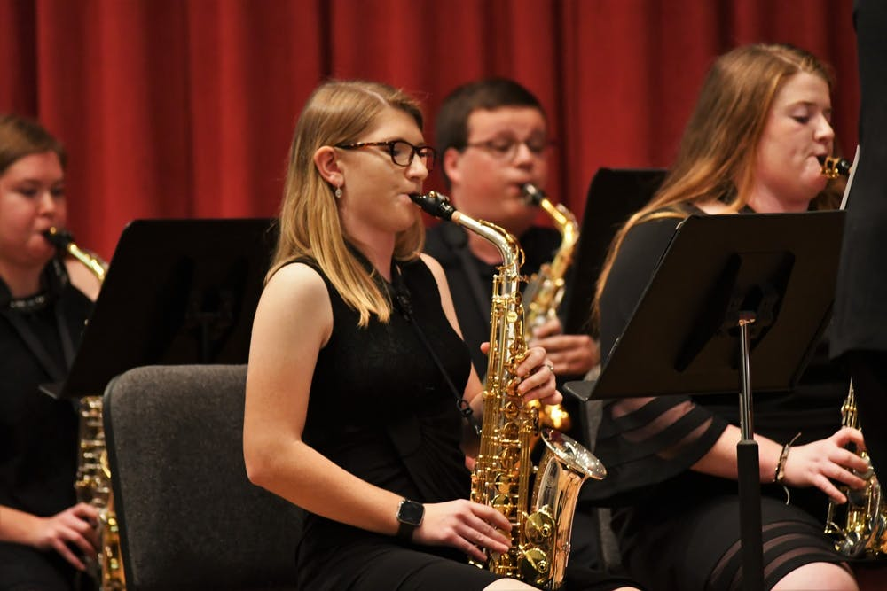 Review: Woodwind ensembles perform variety in Old Main