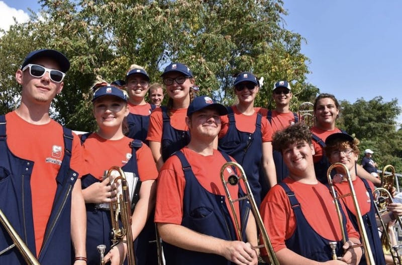 SU Marching Band will be attending the Collegiate Marching Band Festival in Allentown, Pennsylvania, on Sept. 29. There the band will perform in front of thousands of people, according to Trever Famulare, director of bands.
