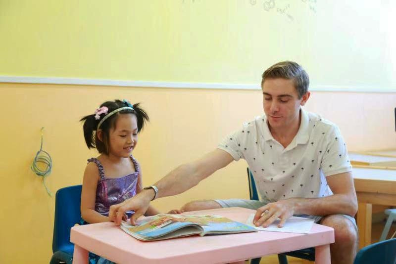 SU senior Shawn Wolfe teaches English to children aged 4 to 12 in his adventure to Guangzhou, China.