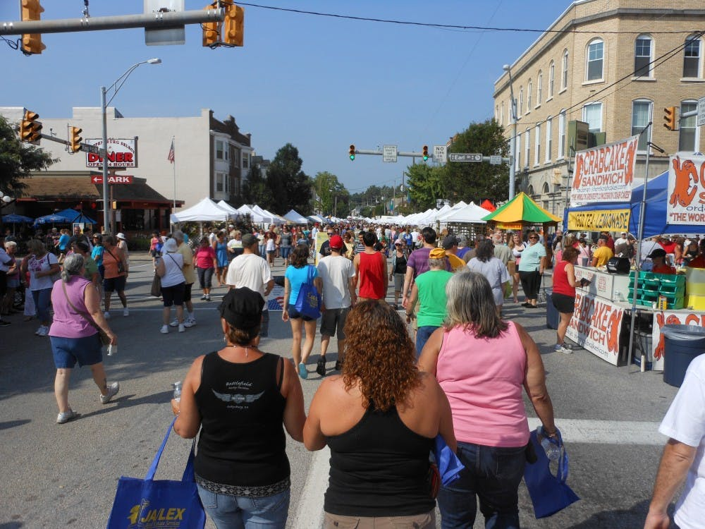 33rd annual Corn Festival offers variety for SU students