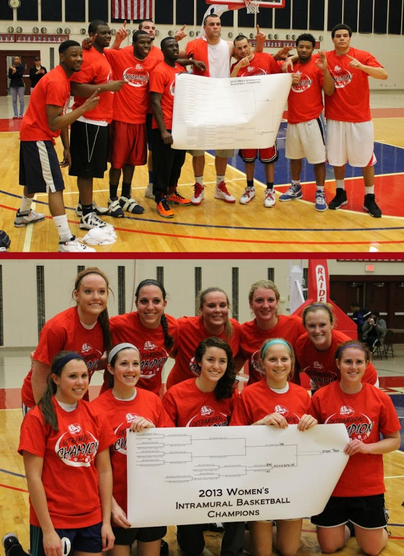 F.P.C. and the Dream Team came away with the intramural championships.