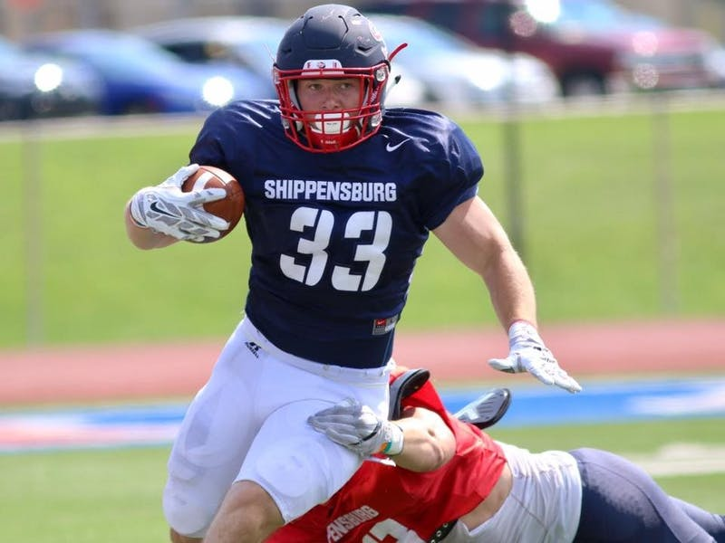 SU running back Cole Chiappialle led a talent Red Raider backfield last season, rushing for more than 574 yards and 11 touchdowns. The SU captain will be counted on once again in the team's potent offense.