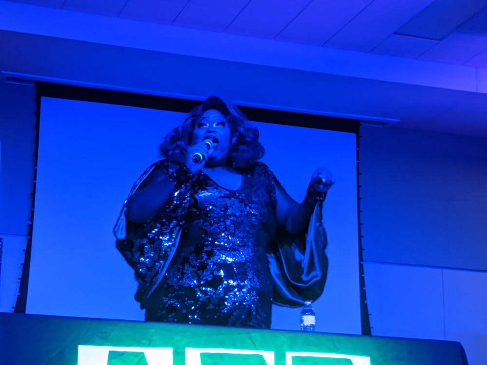 Drag Queen comes to perform during bingo event, rattles over sexualization
