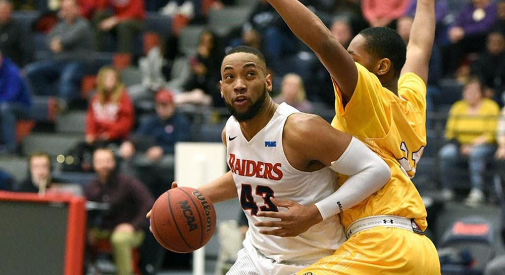Men's basketball ends season with loss to Golden Rams