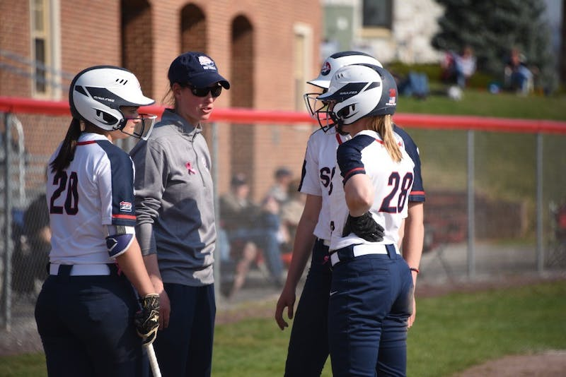 Head coach Alison Van Scyoc has led the Raiders to 87 victories in her five years as softball's top coach.
