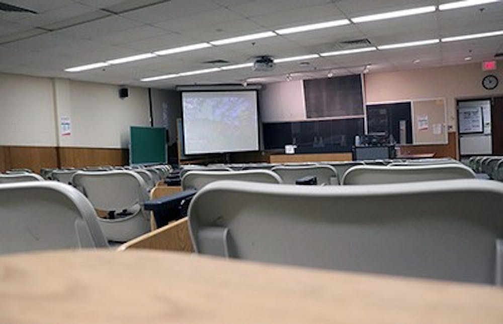 What does a campus look like  when faculty members are gone?