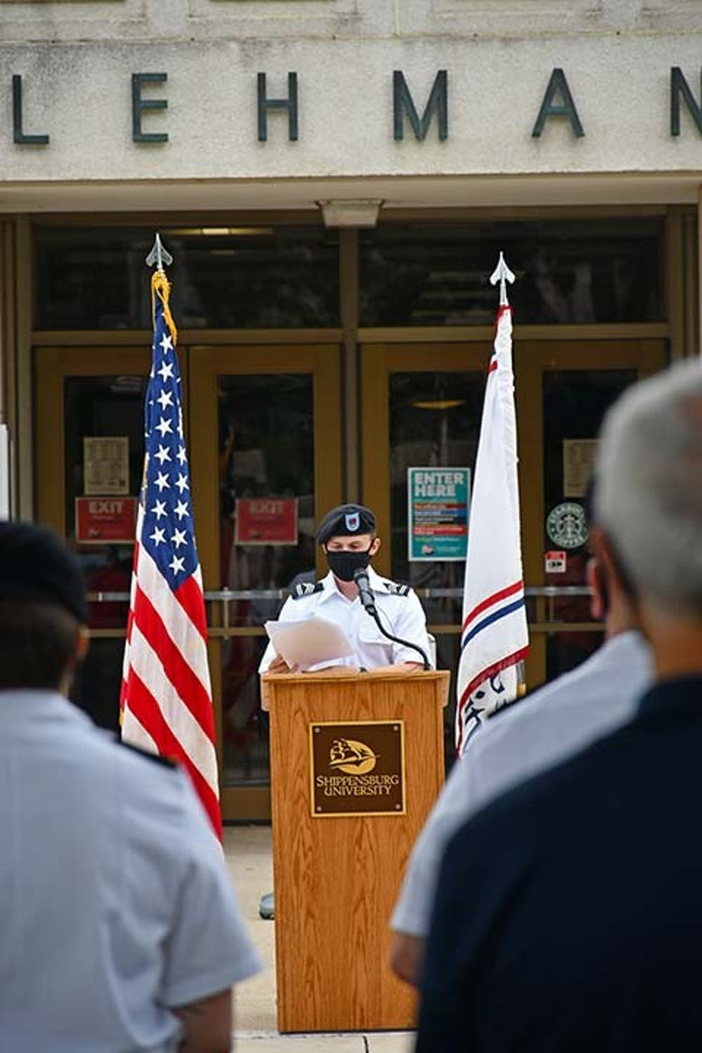 Campus remembers 9/11