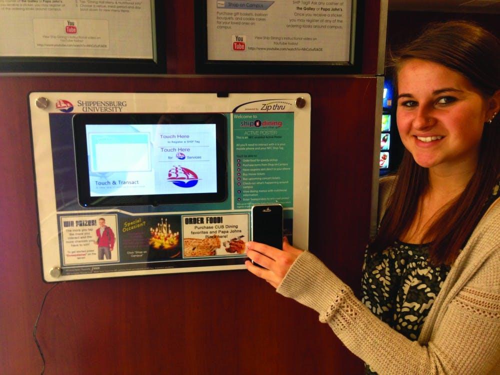 'Ship Dining on the Go' moves touchscreen kiosks