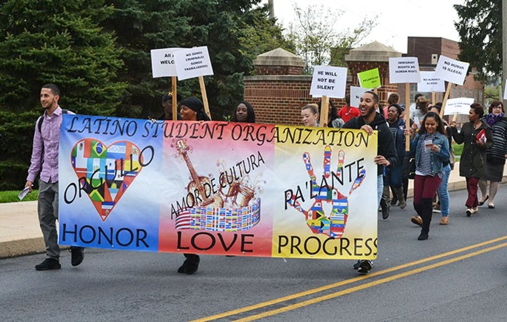 SU marches for Latin American rights, in protest of current immigration, refugee policies