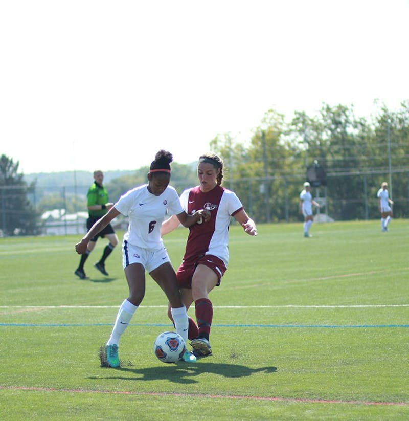 Despite beating Chestnut Hill on Monday, the Raiders struggled in PSAC play, falling to 1-4 in the conference.