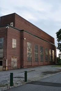 The former steam plant off of North Prince Street will hopefully be used as a future workspace for engineering students.
