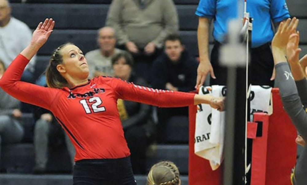 Volleyball stays hot, beats No. 14 Wheeling Jesuit