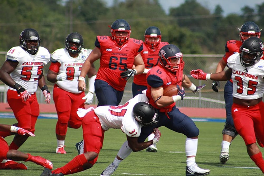 Football suffers setback against Vulcans, 57-14