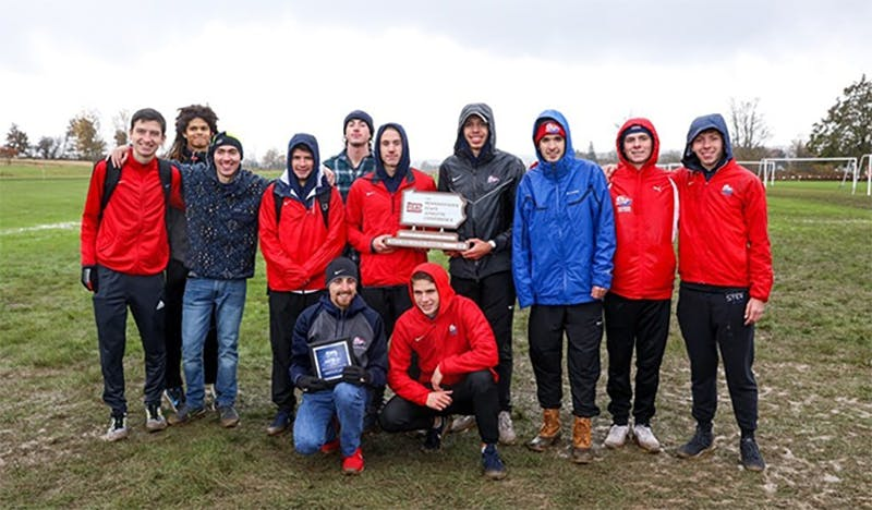 The men take second at the PSAC Championships.