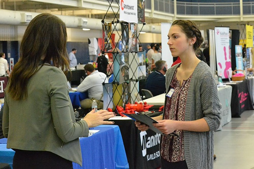 Career fair provides opportunity to network