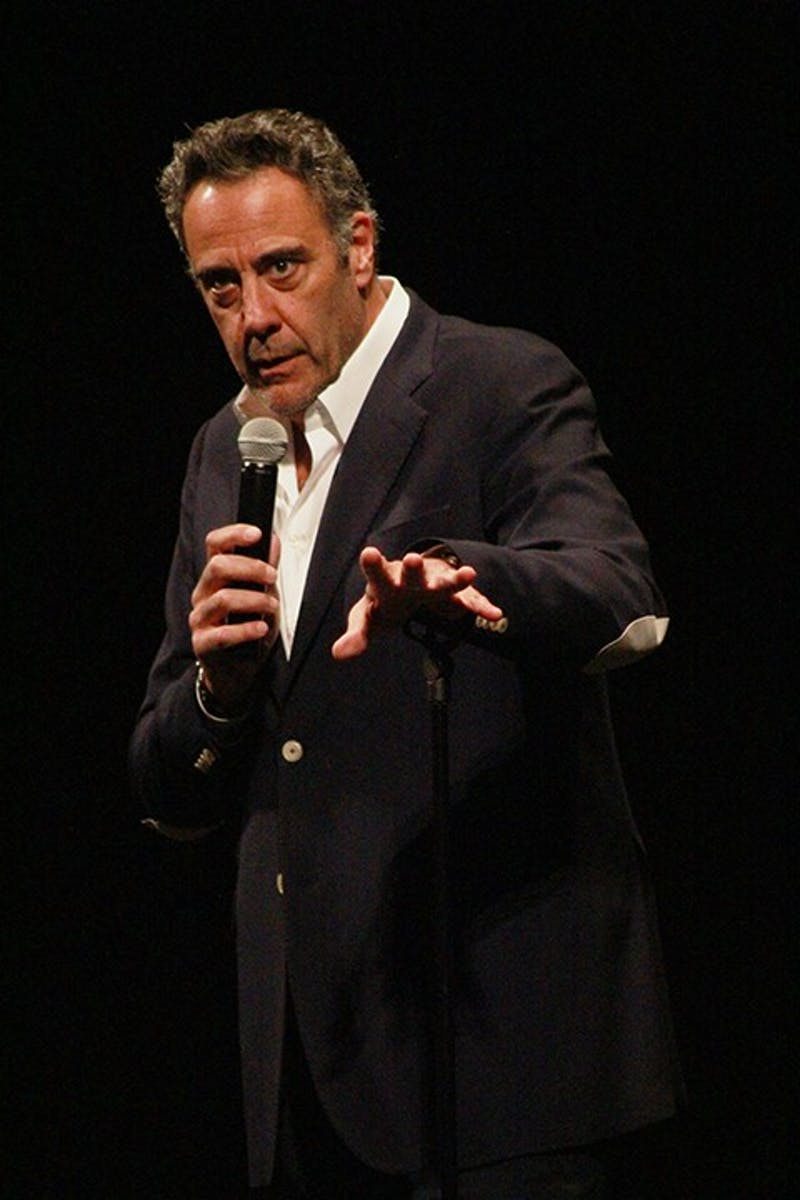 Rita Rudner and Brad Garrett used different techniques to trigger audience laughter.