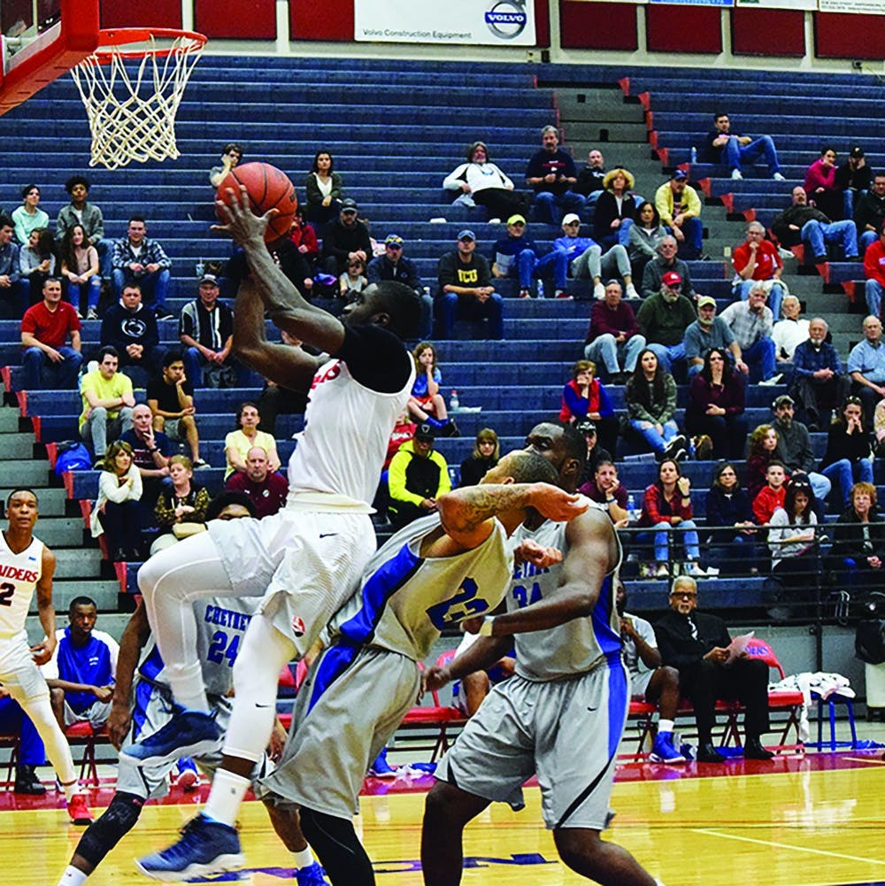 Raiders blow by Cheyney in home finale