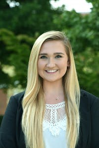 Meredith Scarr was elected to be next year's vice president of student affairs.