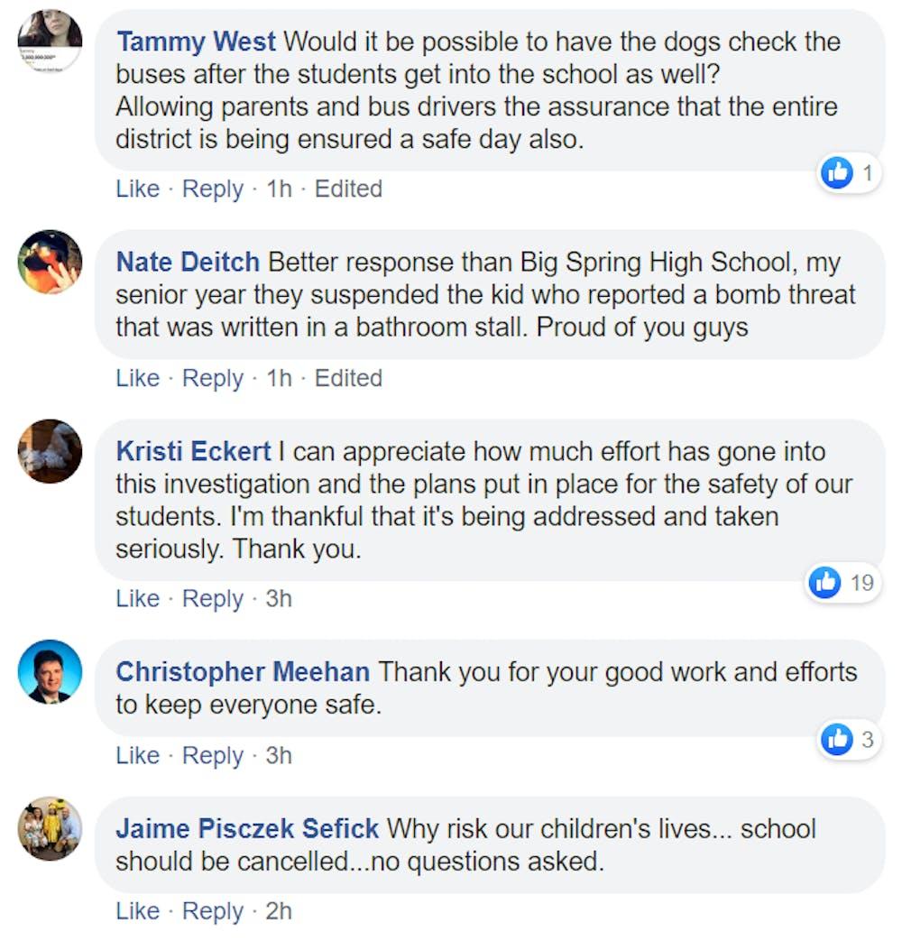 Breaking: Bomb threat fails to close SASD schools