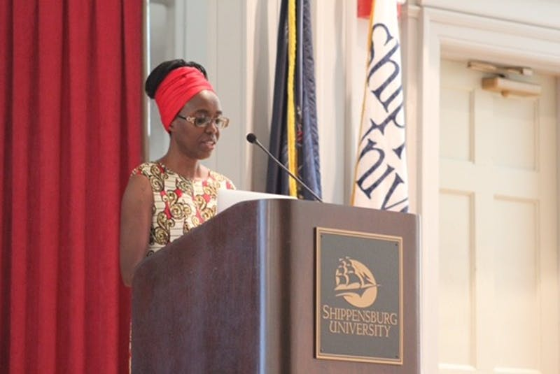 Eucabeth Odhiambo speaks about how she became interested in writing. Much of her book was influenced by her personal life growing up in Kenya.