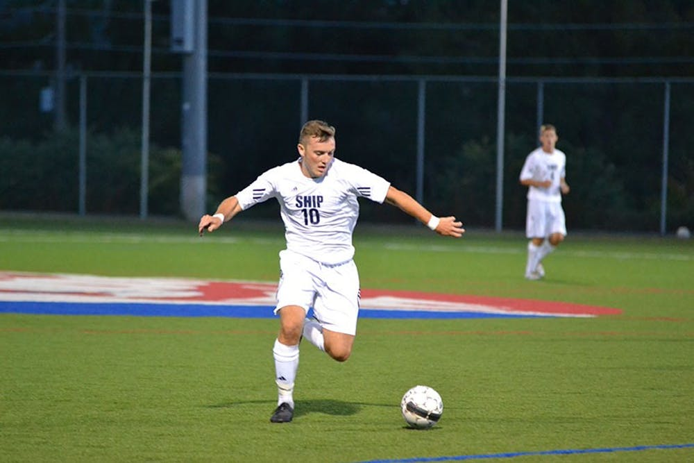 Men's soccer uses late-game heroics to capture victory over West Virginia Wesleyan Bobcats