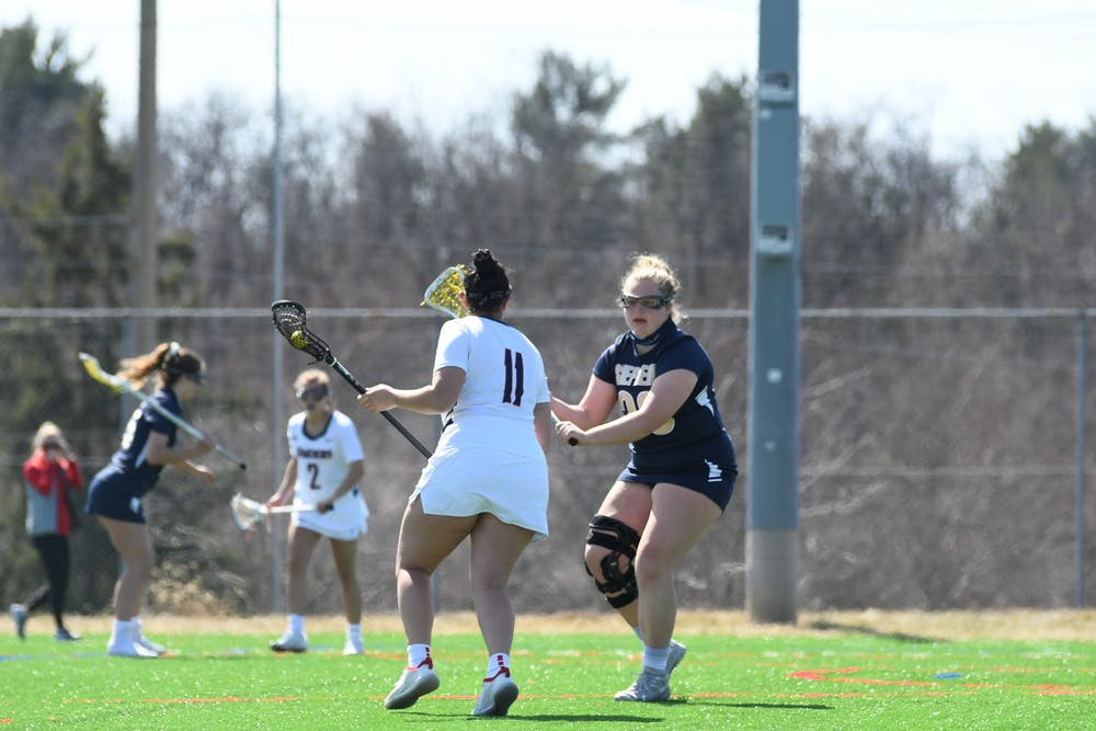Lacrosse ends five-game skid, beats Kutztown 12-5