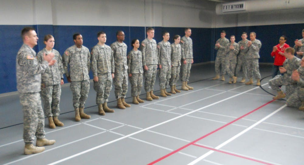 SU ROTC students receive scholarships