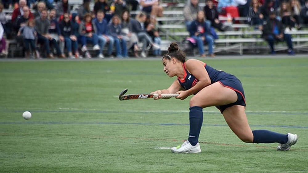 Field hockey clinches playoff spot behind Petrantonio's game-winner against IUP
