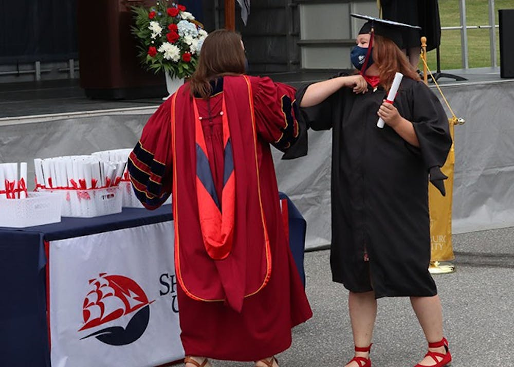 Shippensburg University celebrates class of 2020 in 'drive in' ceremony